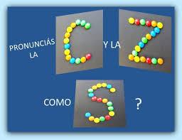 PRONUNCIAS LA C Y LA Z COMO S?